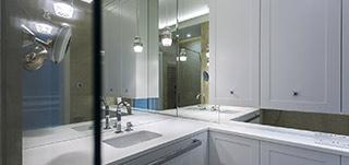 Szkło w łazience - Glass-Zam - Sfera Szkła Zamość - Ireneusz Wiatrzyk - lustra, szkło do kuchni, lacobel, szkło ozdobne, szkło w łazience, szkło meblowe, okna drzwi, szkło w architekturze